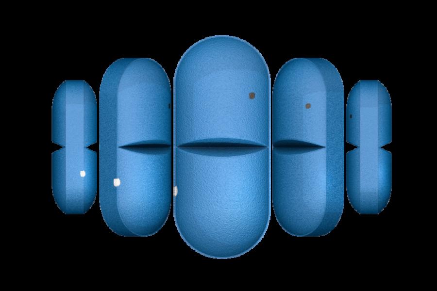 Tabletten in Rotation